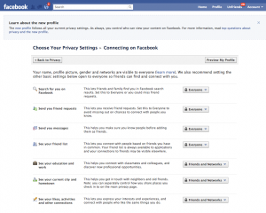 friendslistprivacy2 300x240 Facebook Personal Profile Changes