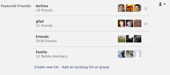 how to change featured content in facebook groups