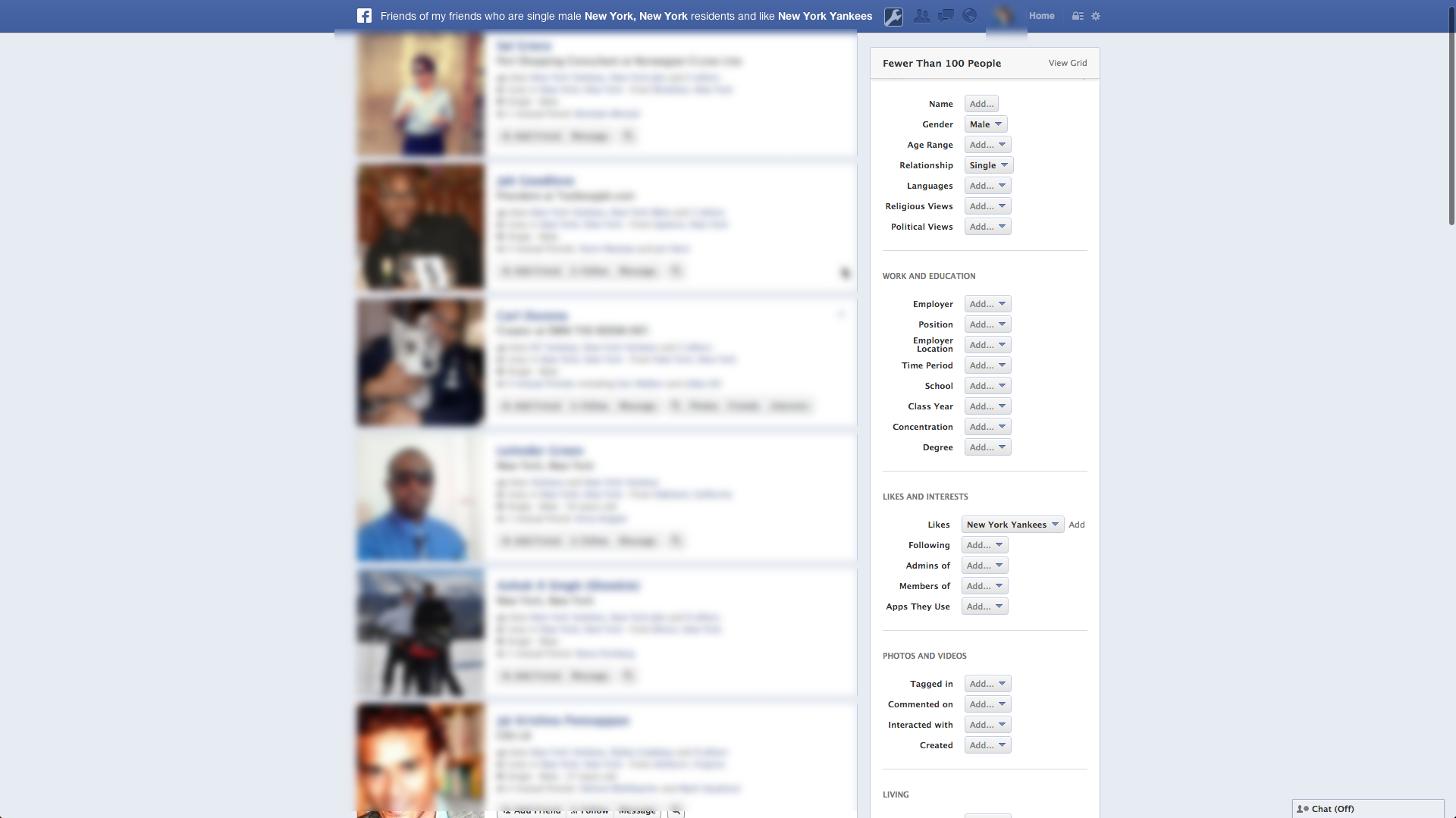Facebook Graph Creep