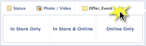 Facebook Offer Type