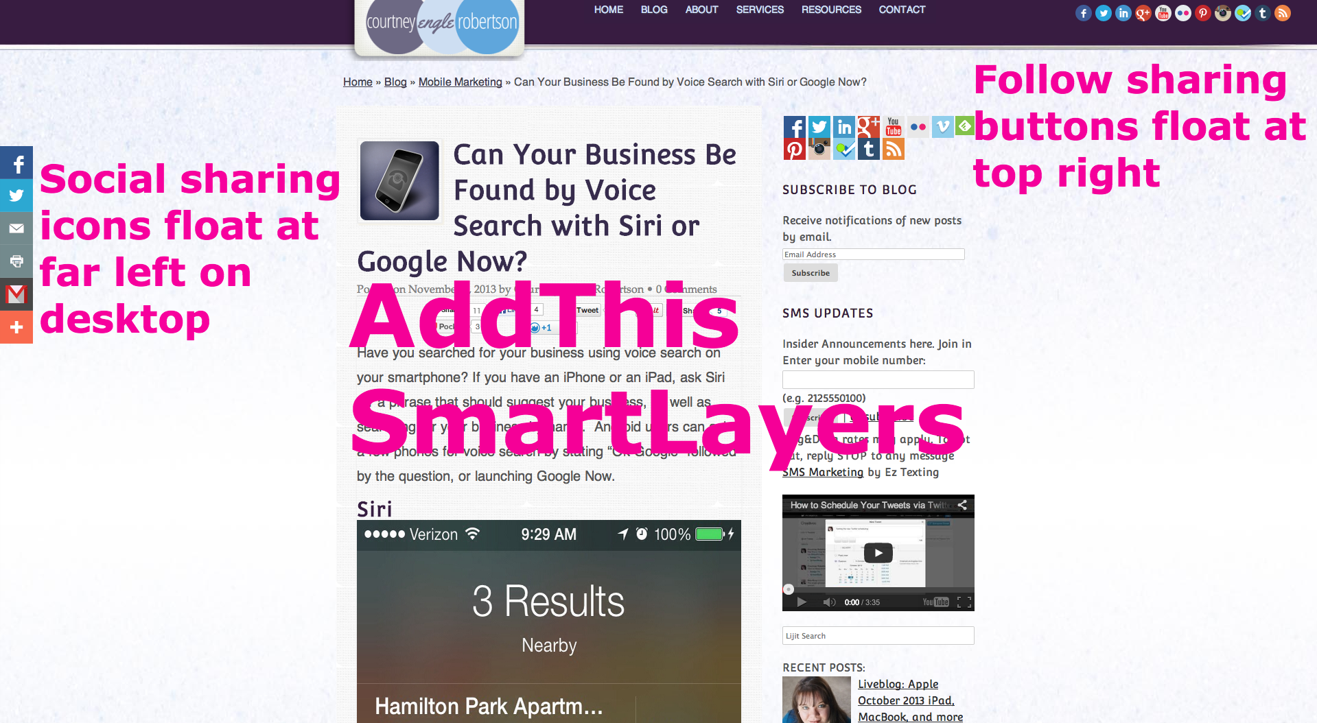 addthis smartlayers