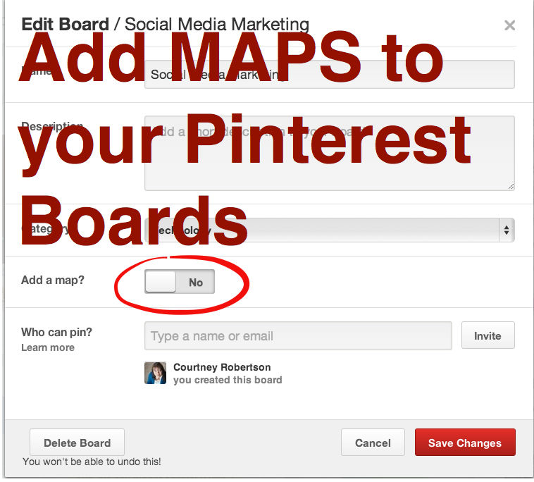 Pinterest Place Pins