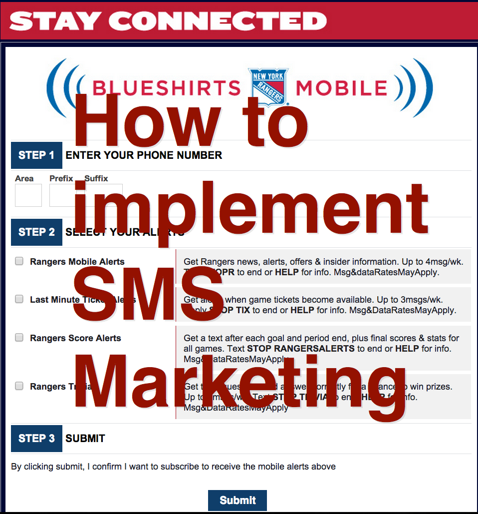 Get started with Mobile Marketing - Part 4, SMS Marketing