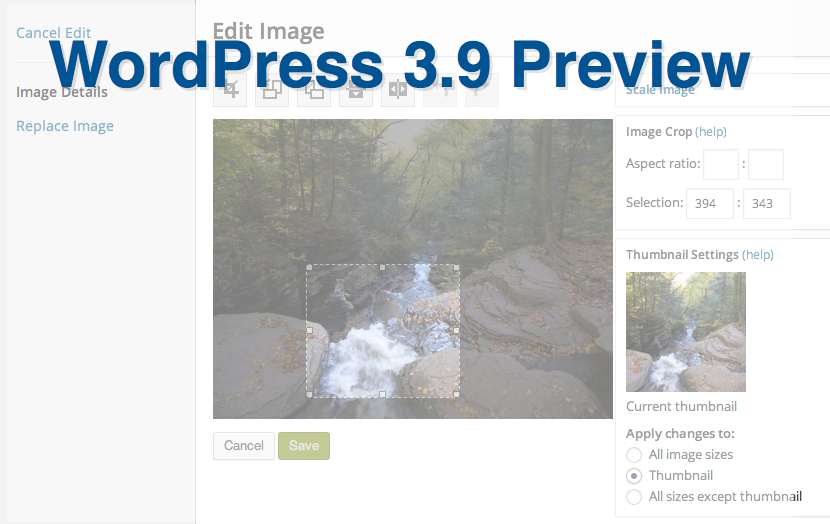 #WordPress 3.9 Release