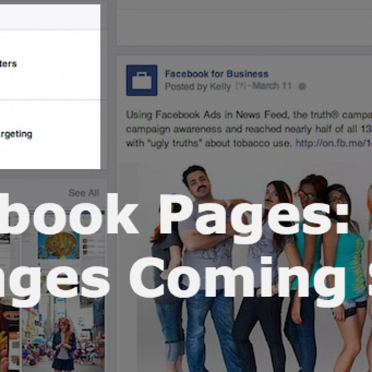 Facebook Pages Changes Are Coming