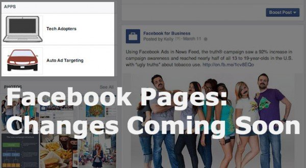 Facebook Pages Changes